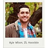 Kyle Wilson, 25, Associate