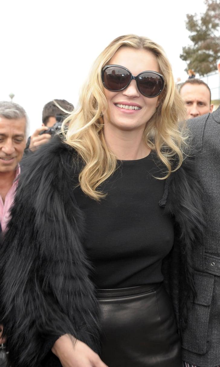 Kate Moss Celebrities Going Braless Popsugar Fashion