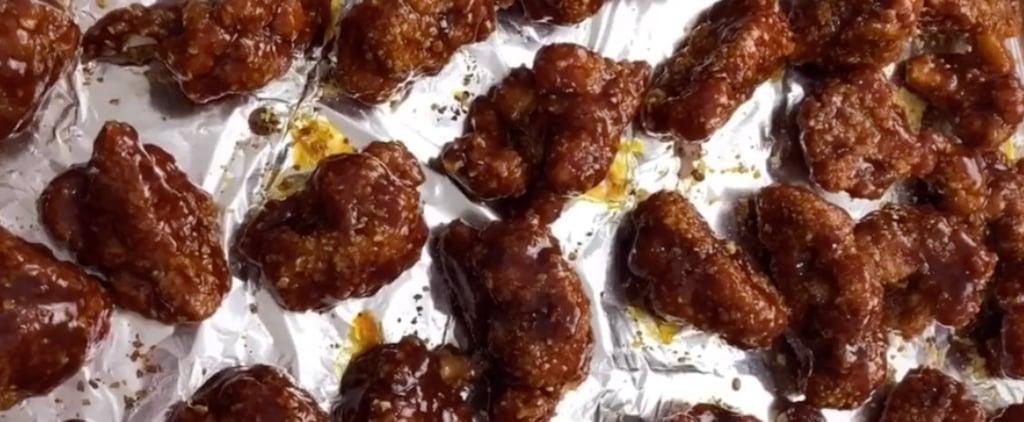 """Vegan Cauliflower """"Chicken Wings"""" in Honey BBQ Sauce Recipe"""
