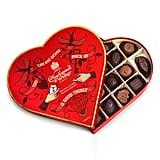 Charbonnel et Walker Milk & Dark Chocolates in Heart Gift Box
