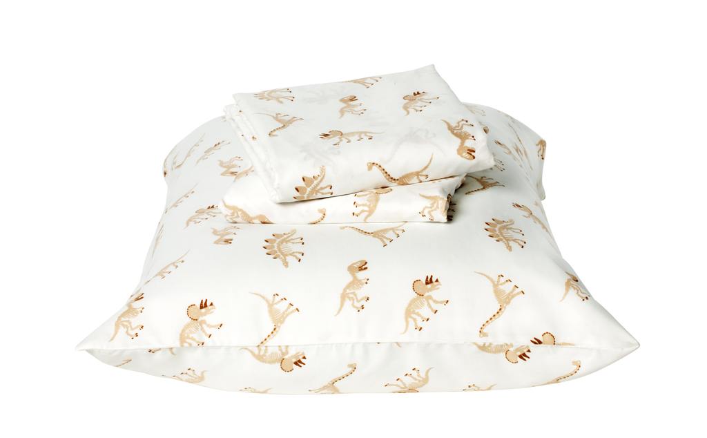 Twin Dinosaur Bones Sheet Set ($18)