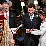 Prince Harry and Princess Eugenie Wedding Pictures
