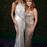 Heidi Klum and Jane Seymour