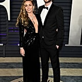 Miley Cyrus and Liam Hemsworth at 2019 Oscars Afterparty