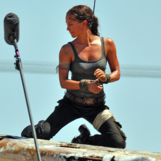 Tomb Raider Set Pictures 2017