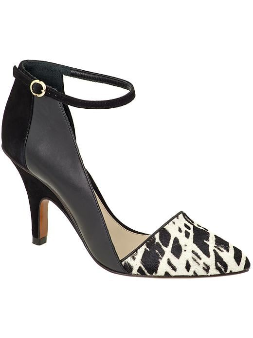 We did a happy dance when we heard 10 Crosby Derek Lam was releasing shoes for Pre-Fall 2013. We love these sexy but sophisticated ankle-strap heels ($295).