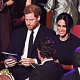 Prince Harry and Meghan Markle at Queen Elizabeth's Birthday