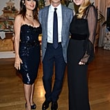 Vanity Fair and Gucci's Bash Brings Out Salma, Naomi, Jennifer, and More