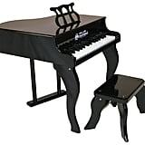 Schoenhut 30 Key Fancy Baby Grand Piano in Black for Kids
