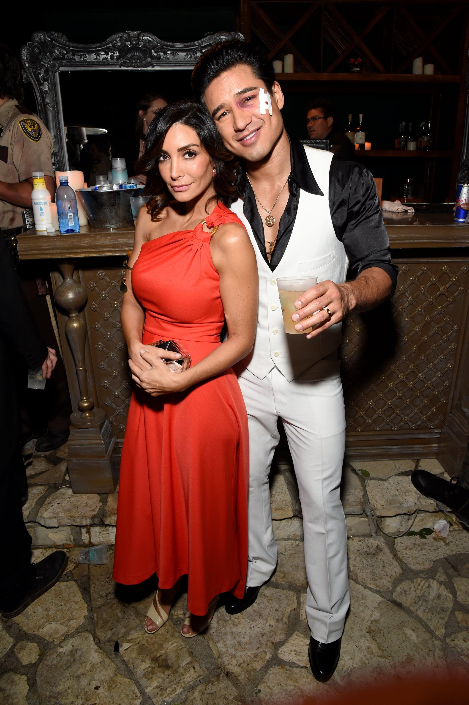 Mario Lopez And Courtney Mazza As Tony Manero And Stephanie