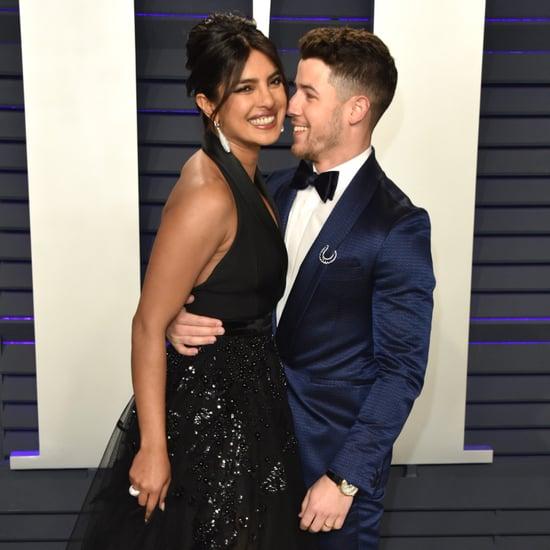 Nick Jonas Priyanka Chopra at Vanity Fair Oscars Party 2019
