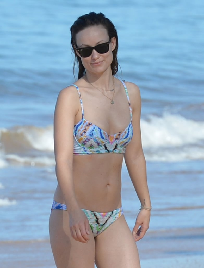 A smiley Olivia Wilde enjoyed a fun day at the beach in Hawaii back in December 2015.