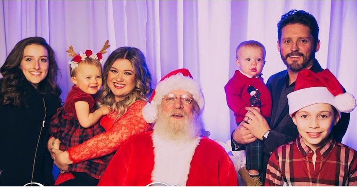 Kelly Clarkson Family Christmas Card 2016 | POPSUGAR Celebrity