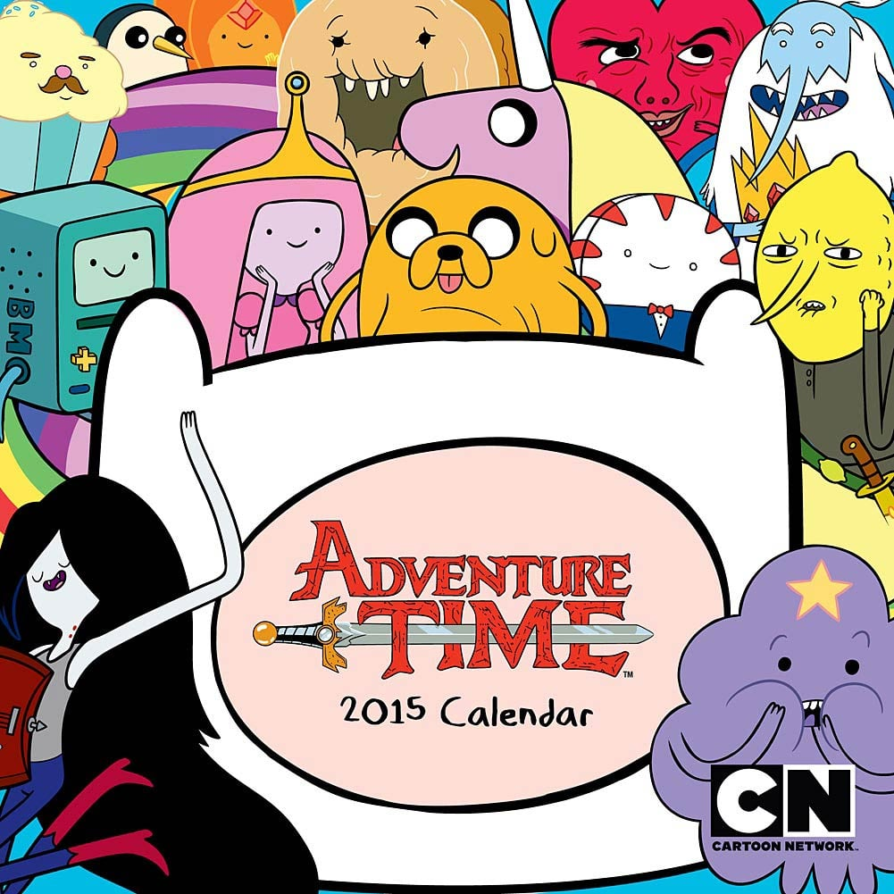 Adventure Time 2015 Mini Wall Calendar ($8)
