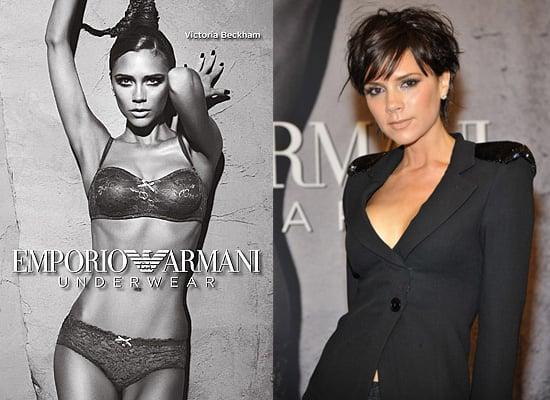 Victoria Beckham Armani Lingerie New York