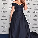 Going For a Classic Look Wearing a Terani Couture Gown at Cannes