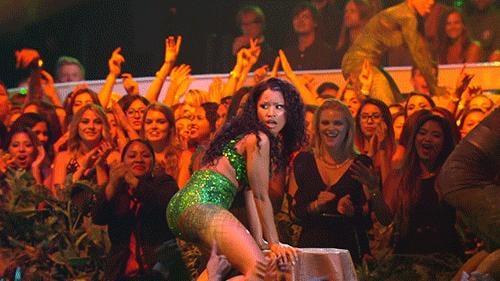 Nicki Minaj Twerked Up a Storm During Her Performance