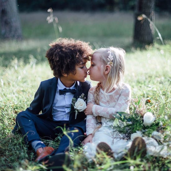 Moms Do a Wedding Photo Shoot With Kids