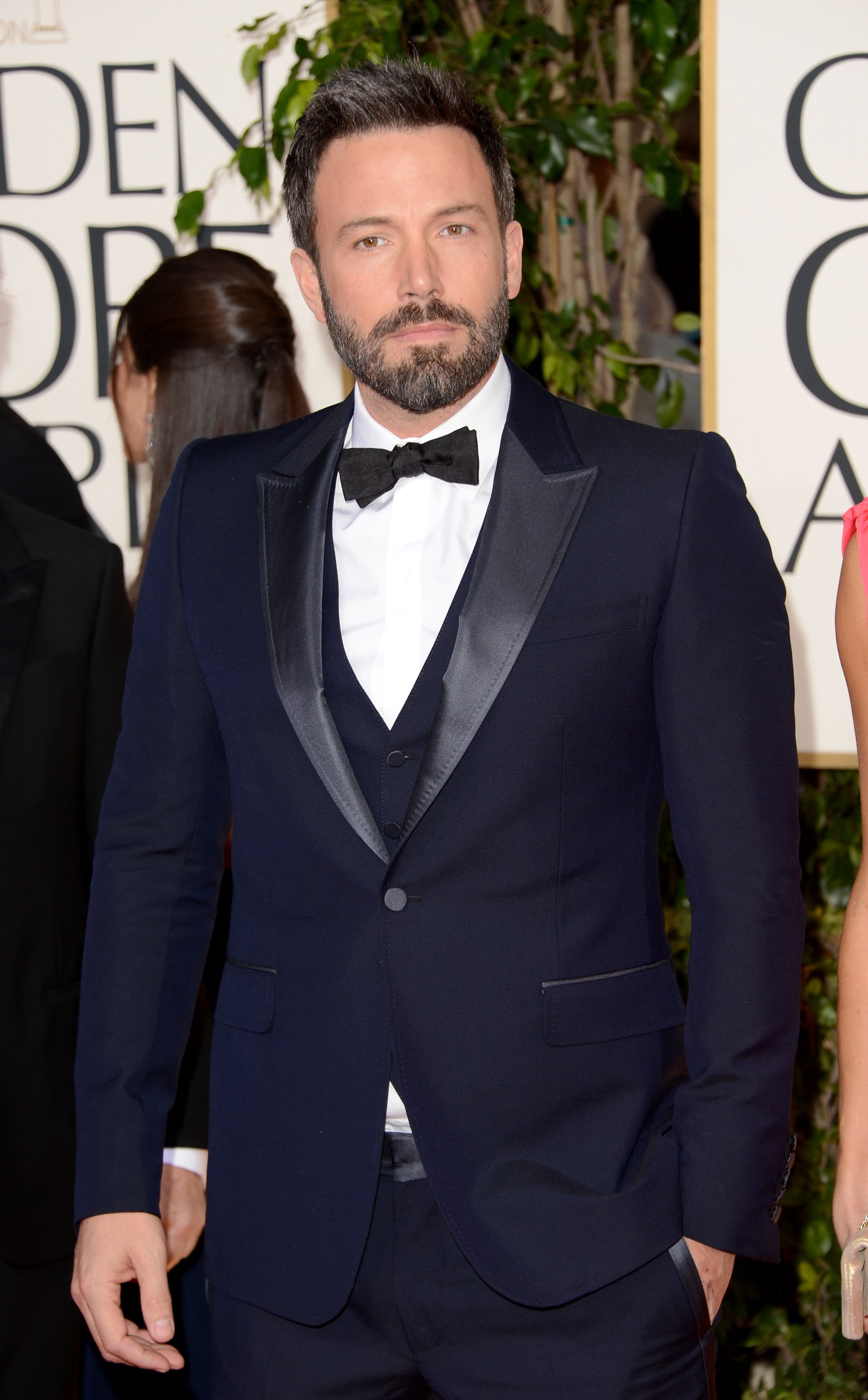 Ben Affleck Goes Formal at the 2013 Golden Globes