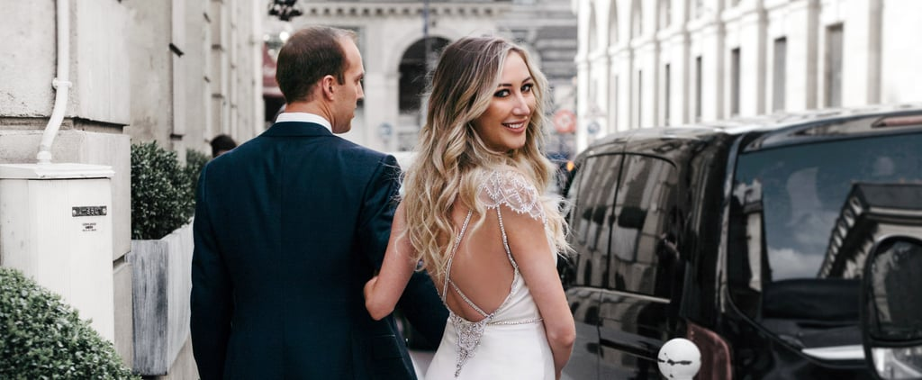 This L'Oréal Ambassador Wore an Engagement Dress as Special as Any Wedding Gown