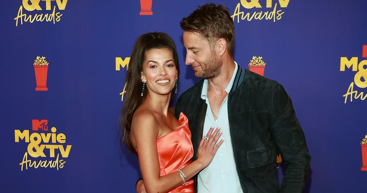 Justin Hartley and Sofia Pernas Make Their Red Carpet Debut at the MTV Movie & TV Awards.jpg