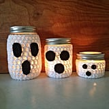 Crochet Ghost Jars
