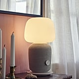 SYMFONISK Table Lamp With WiFi Speaker in Gray