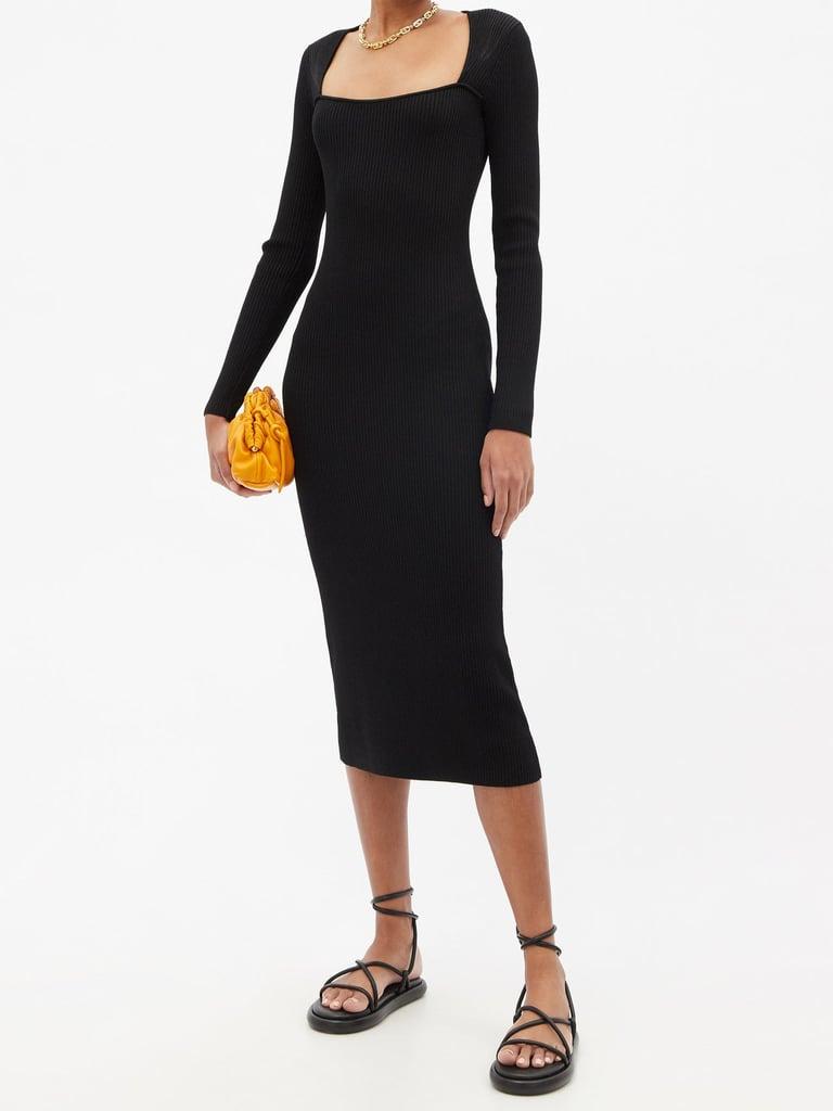 Shop Similar Black Long-Sleeve Dresses