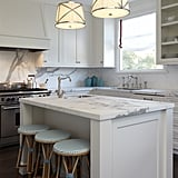A white marble kitchen is so Elsa.