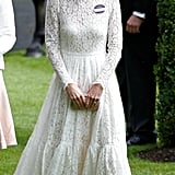 It's Possible Kate Will Wear White, Like Pippa Did at the Royal Wedding