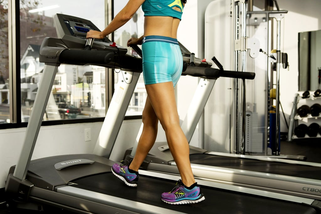 A 34-Minute Interval Walking Treadmill Workout That'll Actually Help You Lose Weight