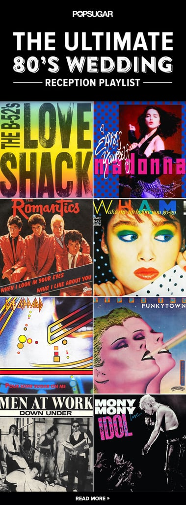 '80s Wedding Songs to Play