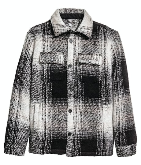 H&M Plaid Jacket