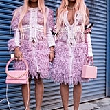 "Is Street Style ""Twinning"" at Fashion Week a Thing Now?"