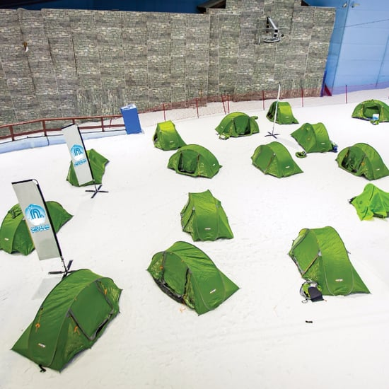 Ski Dubai Camp Outs in Mall of the Emirates