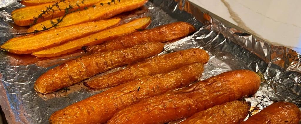 Chrissy Teigen's Thyme Roasted Carrots Recipe