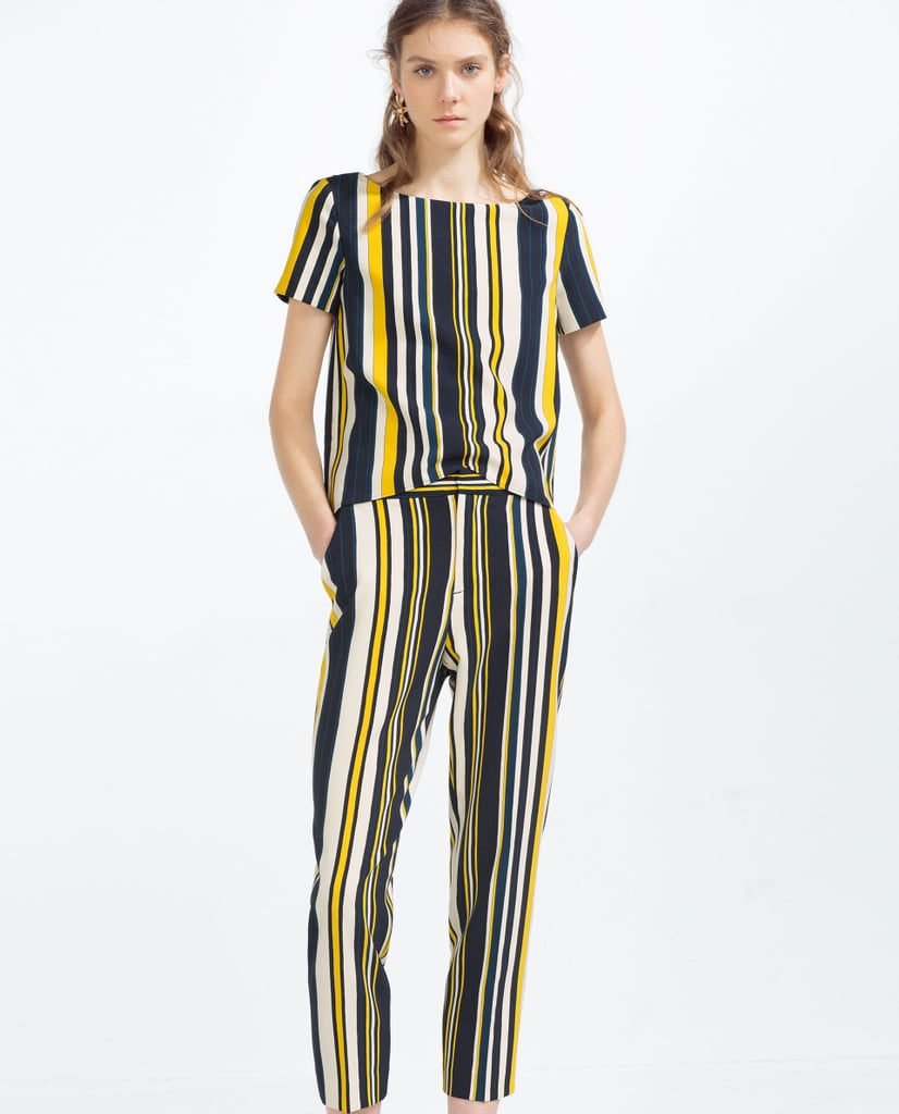 83c4da1a Zara Striped Top ($40) and Trousers ($50) | Coordinated Sets For ...