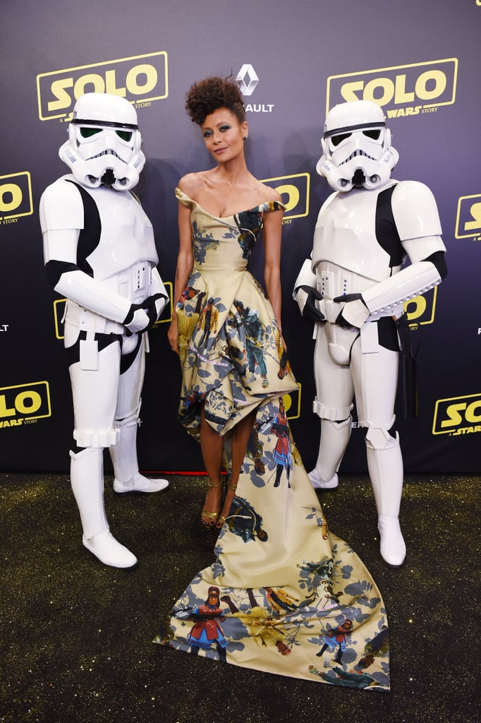 Thandie Newton Star Wars Dress at Cannes 2018