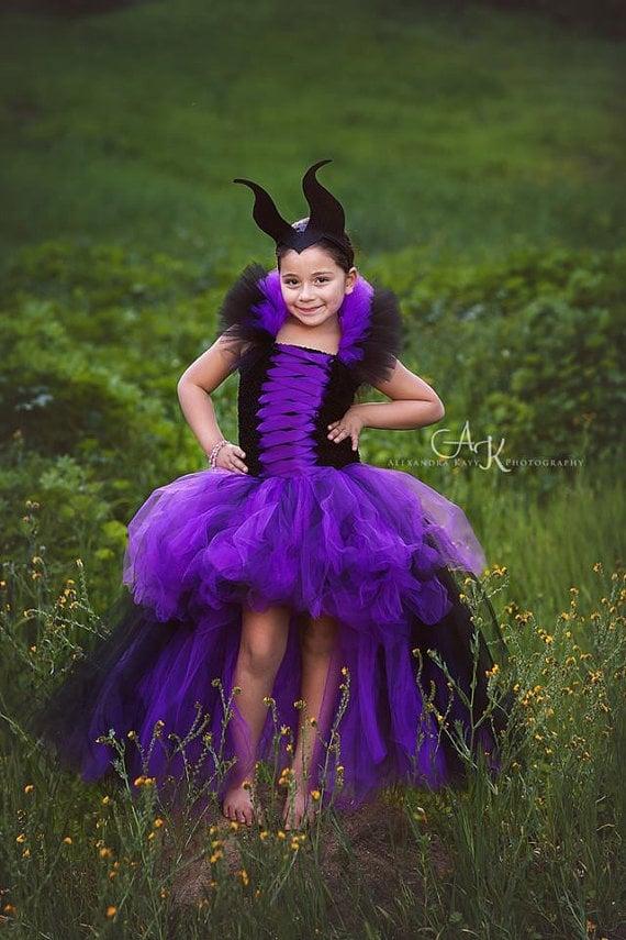 Maleficent Tutu Dress | Disney Descendants Halloween Costumes ...