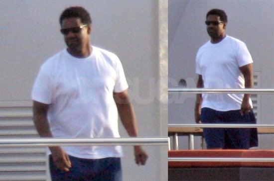 Denzel Gets In Pre-Awards Vacation