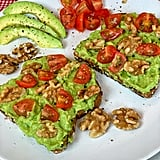 Walnut Tomato Avocado Toast