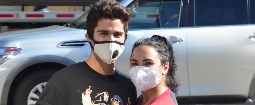 Demi Lovato and Max Ehrich Out in LA After Getting Engaged