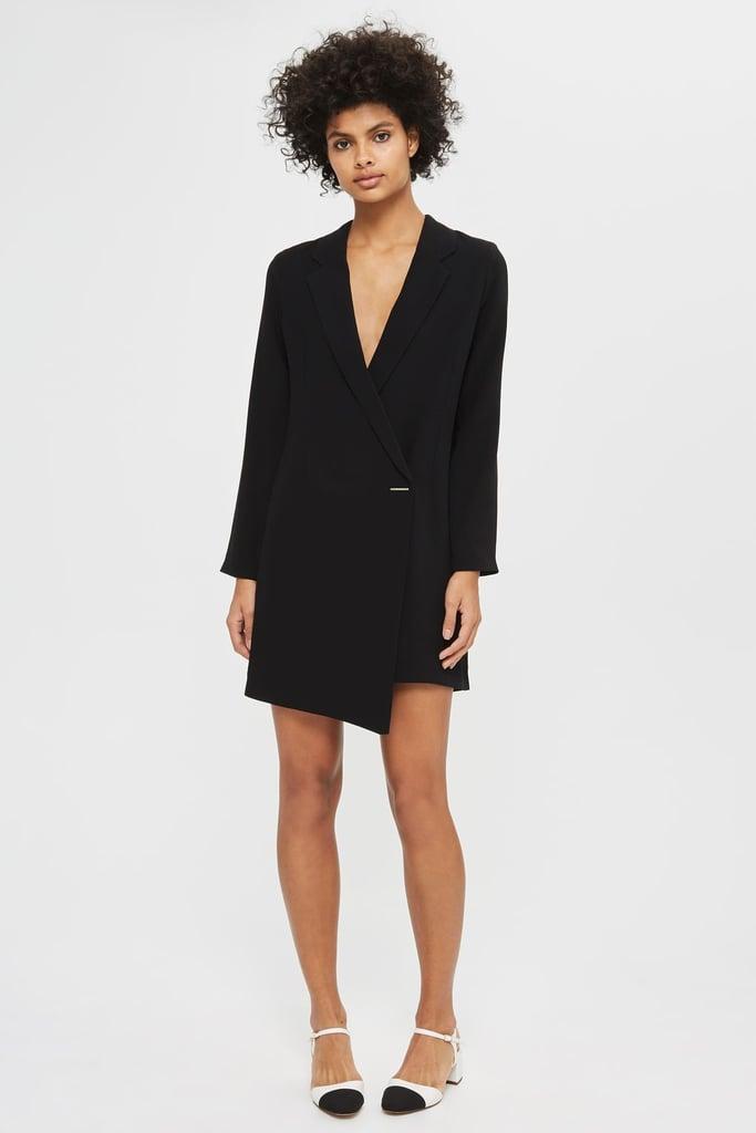 Topshop Petite Asymmetric Blazer Dress ($95.46 approx.)