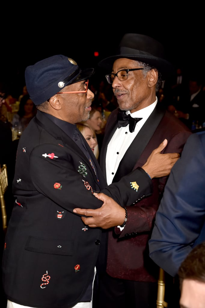 Pictured: Spike Lee and Giancarlo Esposito