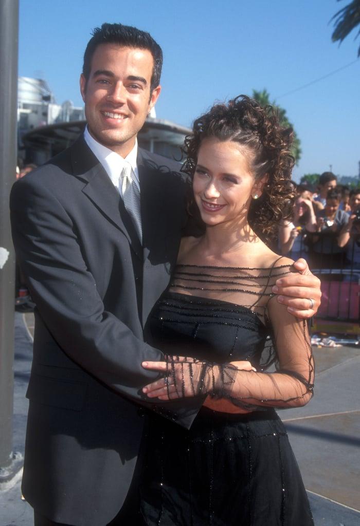 Carson Daly and Jennifer Love Hewitt, 1998