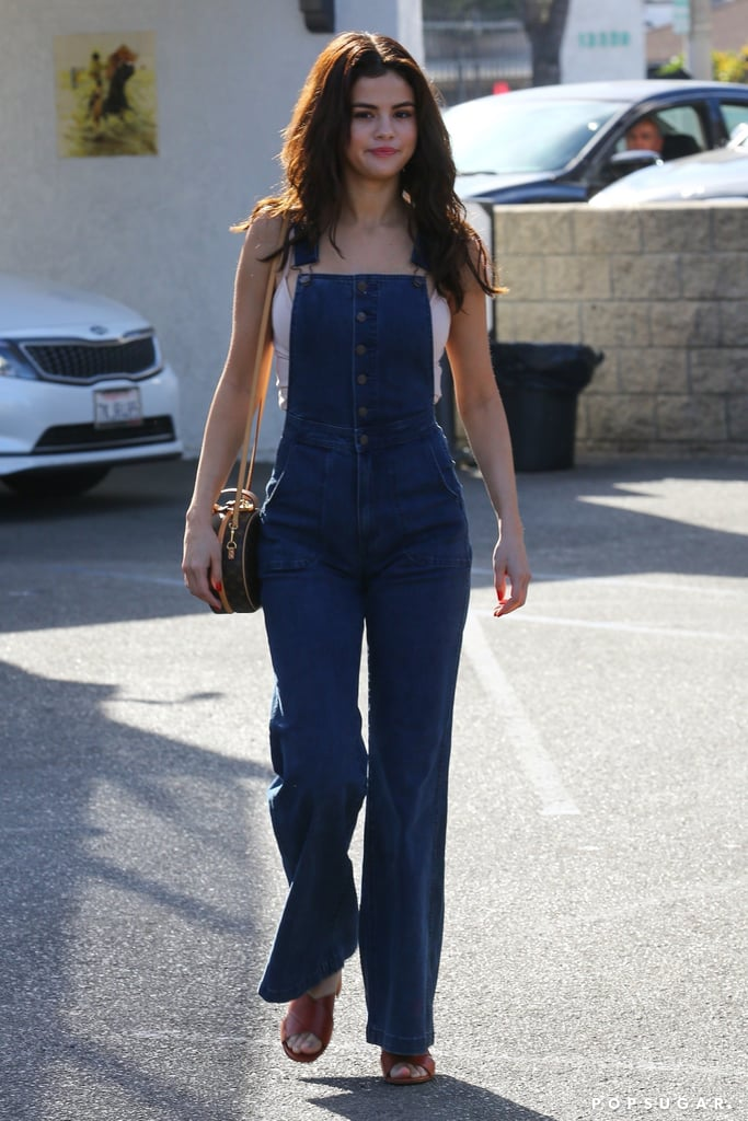 Selena Gomez Is Walking Around Town in Vintage Jeans They Just Don't Make Anymore