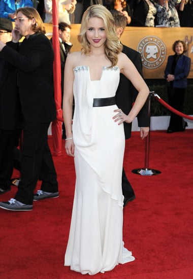 January 2010: Dianna Agron at the 16th Annual SAG Awards