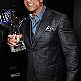 January: He Was Crowned Favorite Comedic Movie Actor and Favorite Premium Series Actor at the People's Choice Awards