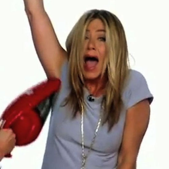 Jennifer Aniston in The Ellen Show Commercials (Video)