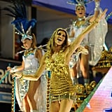 Gisele Bundchen returned to Brazil to show off her Samba skills at Carnival in February 2011.